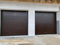 Ворота гаражные подъёмно-секционные Alutech серии Prestige в п.Лисий нос
