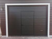 Ворота гаражные подъёмно-секционные Alutech Prestige в Удальцово