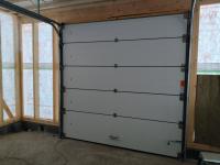 Ворота гаражные подъёмно-секционные Alutech Prestige в п.Приветненское