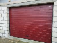 Ворота гаражные подъёмно-секционные DoorHan RSD01 в д.Кипень
