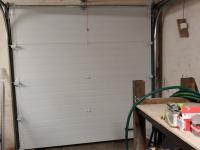 Ворота гаражные подъёмно-секционные DoorHan RSD01 в пос. им.Свердлова