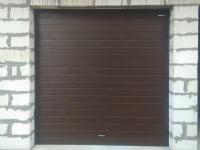Гаражные подъёмно-секционные ворота DoorHan RSD01 в ДНП Лесная Сказка