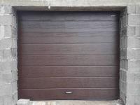 Гаражные подъёмно-секционные ворота Doorhan RSD01 в Коммунаре