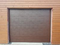 Гаражные подъёмно-секционные ворота Doorhan RSD01 в Мичуринском
