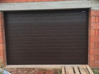 Гаражные подъёмно-секционные ворота Doorhan RSD01 в Ропше