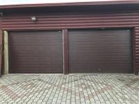 Гаражные подъёмно-секционные ворота Doorhan RSD01 в Усть-Ижоре