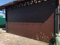 Гаражные подъёмно-секционные ворота Doorhan RSD02 в Сертолово