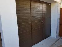 Гаражные подъёмно-секционные ворота Doorhan RSD02 в п. Лисий нос