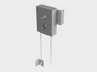 Ручной цепной привод для промышленных ворот всех типов подъема, служащий для подъема и опускания полотна ворот вручную.