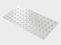 Защитные бамперы из рифленого алюминия