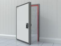 Обогрев периметра рамы для низкотемпературных дверей (опция).