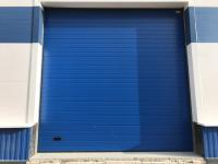 Промышленные подъёмно-секционные ворота Alutech ProPlus в Шушарах