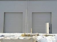 Промышленные подъёмно-секционные ворота DoorHan ISD01 в Шушарах