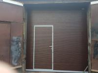 Промышленные подъёмно-секционные ворота DoorHan ISD01 2845х3050