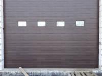 Гаражные подъёмно-секционные ворота Doorhan серии ISD01 в Хиттолово