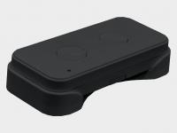Беспроводная кнопка Command-433 для дистанционного управления двумя автоматическими устройствами.