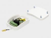 GSM-модуль для приема сигнала с мобильного телефона и передачи управляющей команды для запуска электропривода или шлагбаума.