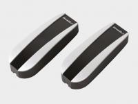 Фотоэлементы безопасности Photocell-N, состоящие из инфракрасного передатчика и приемника.