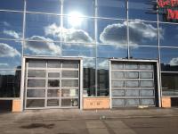 Промышленные подъёмно-секционные ворота на Комендантском