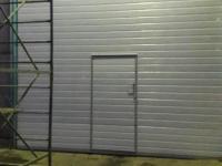 Промышленные подъёмно-секционные ворота в СПб, ул. Софийская