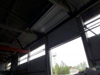 Промышленные подъёмно-секционные ворота в СПб, пер. Химический