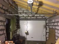 Гаражные подъёмно-секционные ворота в Ексолово