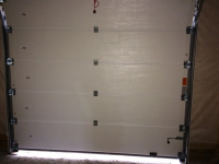 Гаражные подъёмно-секционные ворота в Новой Ропше