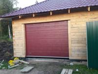 Гаражные подъёмно-секционные ворота в Войбокало