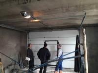 Гаражные подъёмно-секционные ворота в Янино