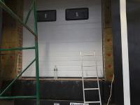 Промышленные подъёмно-секционные ворота в Санкт-Петербурге, м. Рыбацкое