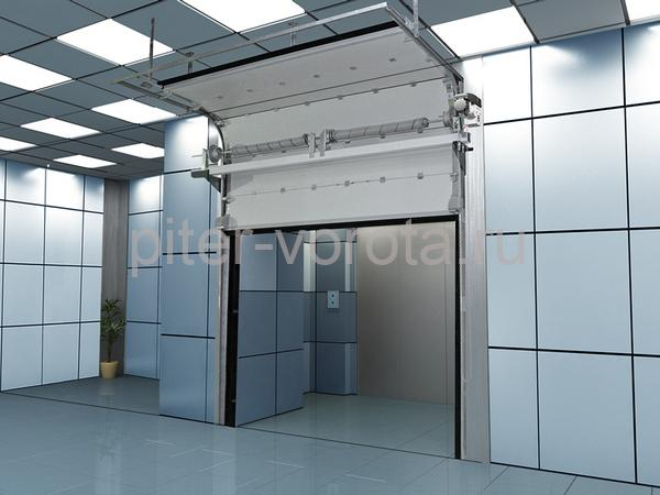 в помещениях с холодильными и морозильными установками