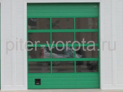 Промышленные секционные ворота DoorHan ISD02 4000 х 6100