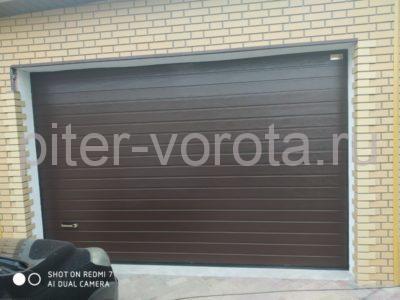 Ворота гаражные подъёмно-секционные Alutech Prestige в Парголово, фото 1