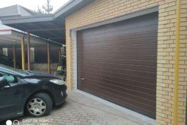 Ворота гаражные подъёмно-секционные Alutech Prestige в Парголово, фото 2