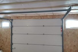 Ворота гаражные подъёмно-секционные Alutech Prestige в Выборге, фото 2