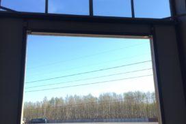 Промышленные подъёмно-секционные ворота Alutech Protrend на Софийской, фото 8