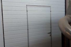 Промышленные подъёмно-секционные ворота Alutech Protrend в Лаголово, фото 2