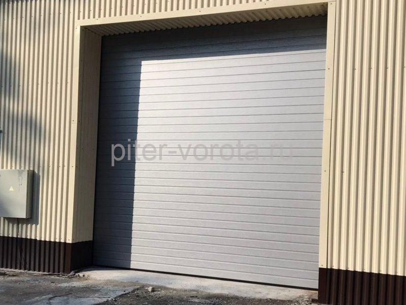 Промышленные подъёмно-секционные ворота Alutech Protrend в Приветнинском