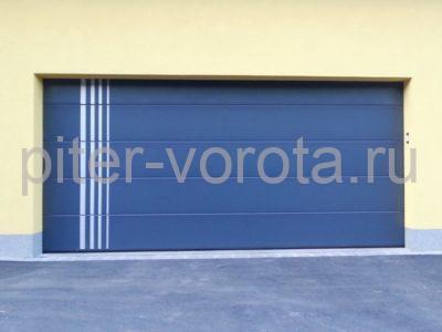 Промышленные секционные ворота DoorHan ISD01 6000 х 7000
