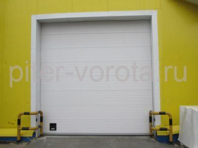Промышленные секционные ворота DoorHan ISD01 4000 х 5000