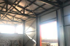 Промышленные подъёмно-секционные ворота DoorHan ISD01 в г.Коммунаре, фото 6