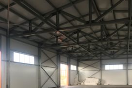 Промышленные подъёмно-секционные ворота DoorHan ISD01 в г.Коммунаре, фото 11