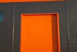 Промышленные подъёмно-секционные ворота DoorHan ISD01 в г.Коммунаре, фото 3