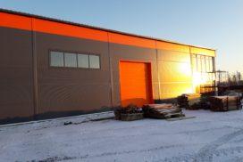 Промышленные подъёмно-секционные ворота DoorHan ISD01 в г.Коммунаре, фото 4