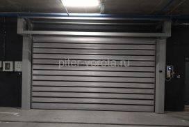Спиральные скоростные ворота Doorhan DUS-555(N) 2450х2520 и 5000х2750 в д. Копище, фото 3