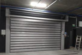 Спиральные скоростные ворота Doorhan DUS-555(N) 2450х2520 и 5000х2750 в д. Копище, фото 6