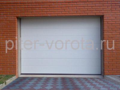 Секционные ворота Hormann 2500 × 2125 мм, ручное управление