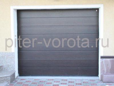 Секционные ворота Hormann 2500 × 2125 мм, автоматический привод ProMatic