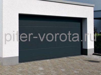 Секционные ворота Hormann 5000 × 2125 мм, ручное управление