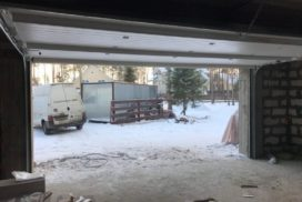 Гаражные подъёмно-секционные ворота DoorHan RSD02 в Маслово, фото 2